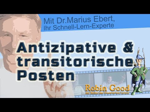 Antizipative U Transitorische Posten Youtube