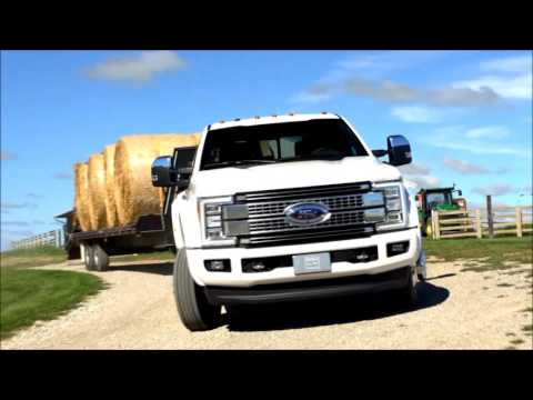 2017 Ford Super Duty Specs: Exterior and Interior - YouTube