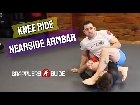 Reilly Bodycomb - Knee Ride - Nearside Armbar When Pushing On Far Knee