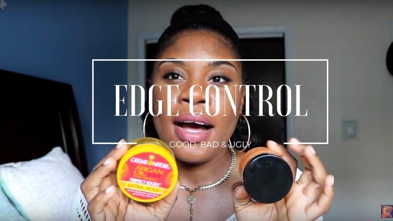 edge control natural hair