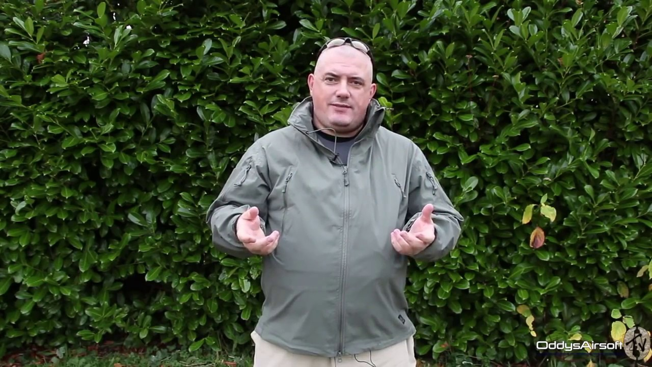Helikon Tex Trooper Jacket Soft Shell Alpha Green Outdoor Jacke