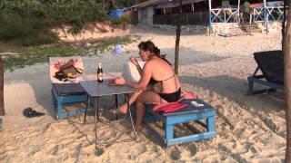 Пляж Варка - южный Гоа - отдых у шейка