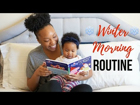 WINTER MORNING ROUTINE 2017   MOMMY EDITION!!