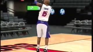 71 Vince Carter Dunks (NBA 2K2 - NBA 2K12)