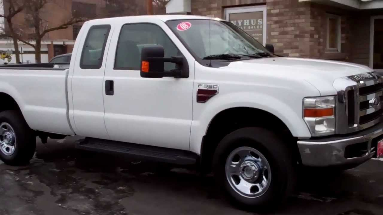 2008 ford super duty f 350 extended cab long box 4x4 diesel youtube