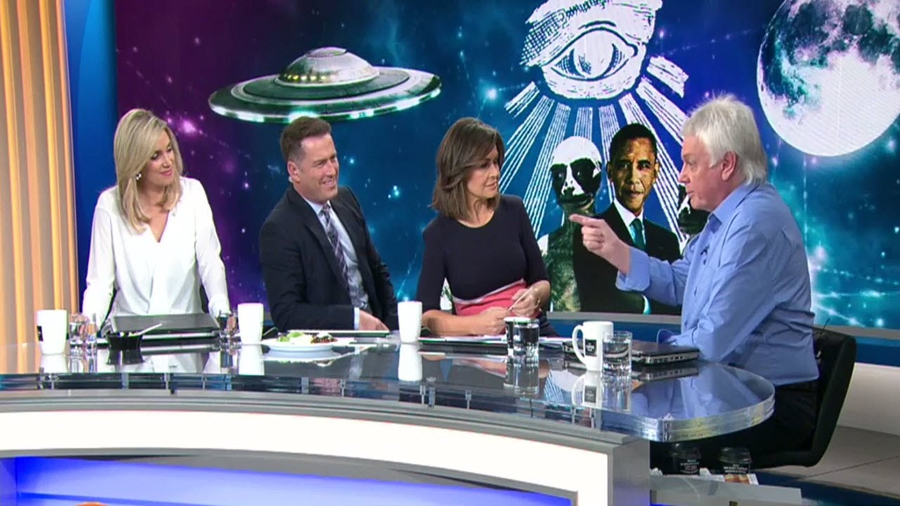 David Icke clashes with TODAY Show hosts over aliens and the moon