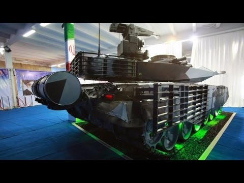 Iranian Made Karrar Tank (Striker) تانک کرار