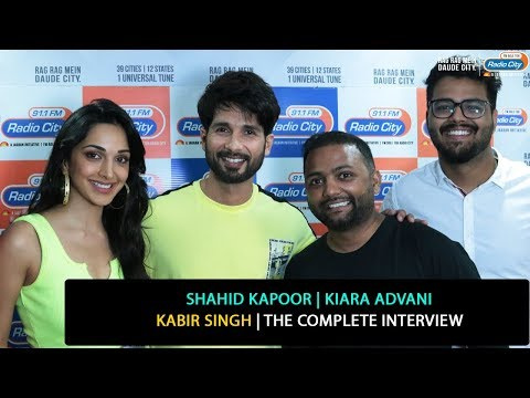 Shahid Kapoor, Kiara Advani | Kabir Singh | The Complete Interview