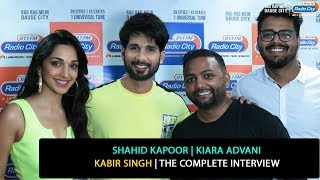 Shahid Kapoor, Kiara Advani | Kabir Singh | The Complete Interview