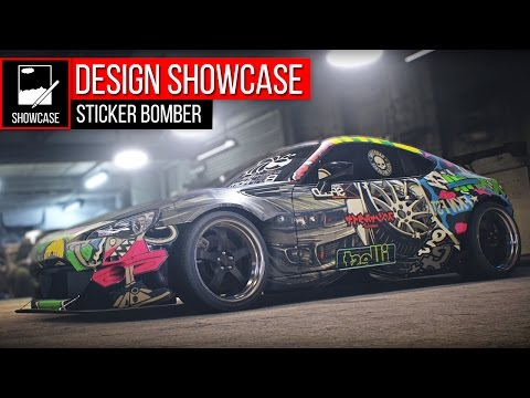 Design Showcase | The Sticker Bomber BRZ - Need for Speed