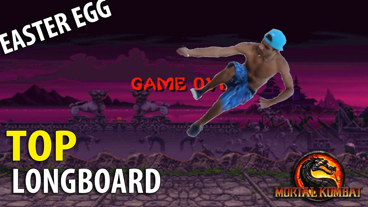 Easter Eggs TOP Longboard - Mortal Kombat Freestyle Bruno Solto