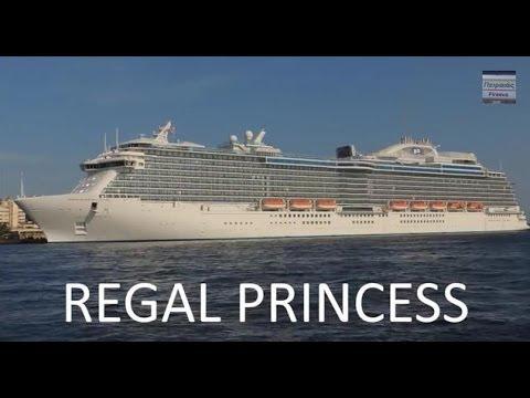 Regal Princess Departure From Piraeus Port Youtube