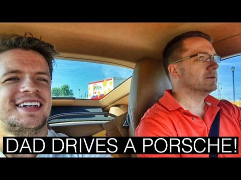 Practical Dad Drives a Porsche Cayman for the First Time!!