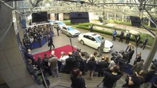 European Council - March 2014: Arrivals in timelapse