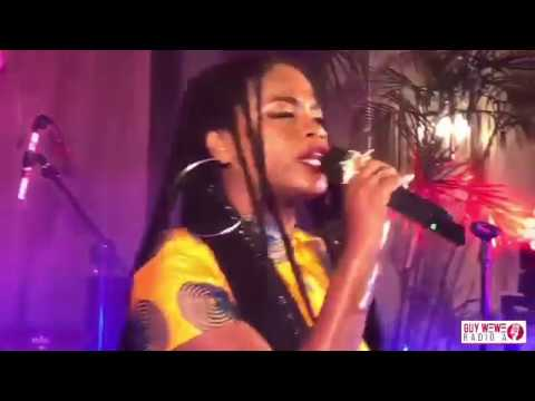 VOIX ELLES: PRINCESS EUD LIVE PERFORMANCE @ BEST WESTERN HOTEL HAITI 8 AVRIL 2018