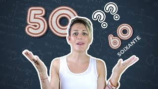 French Lesson - Counting in French (from 11 to 69)