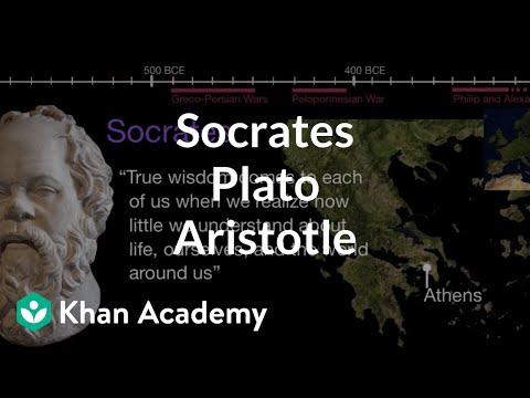 Socrates Plato Aristotle | World History | Khan Academy