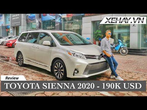 Toyota Sienna 2020 Nhập Khẩu đắt Hơn Cả Lexus | XE HAY.