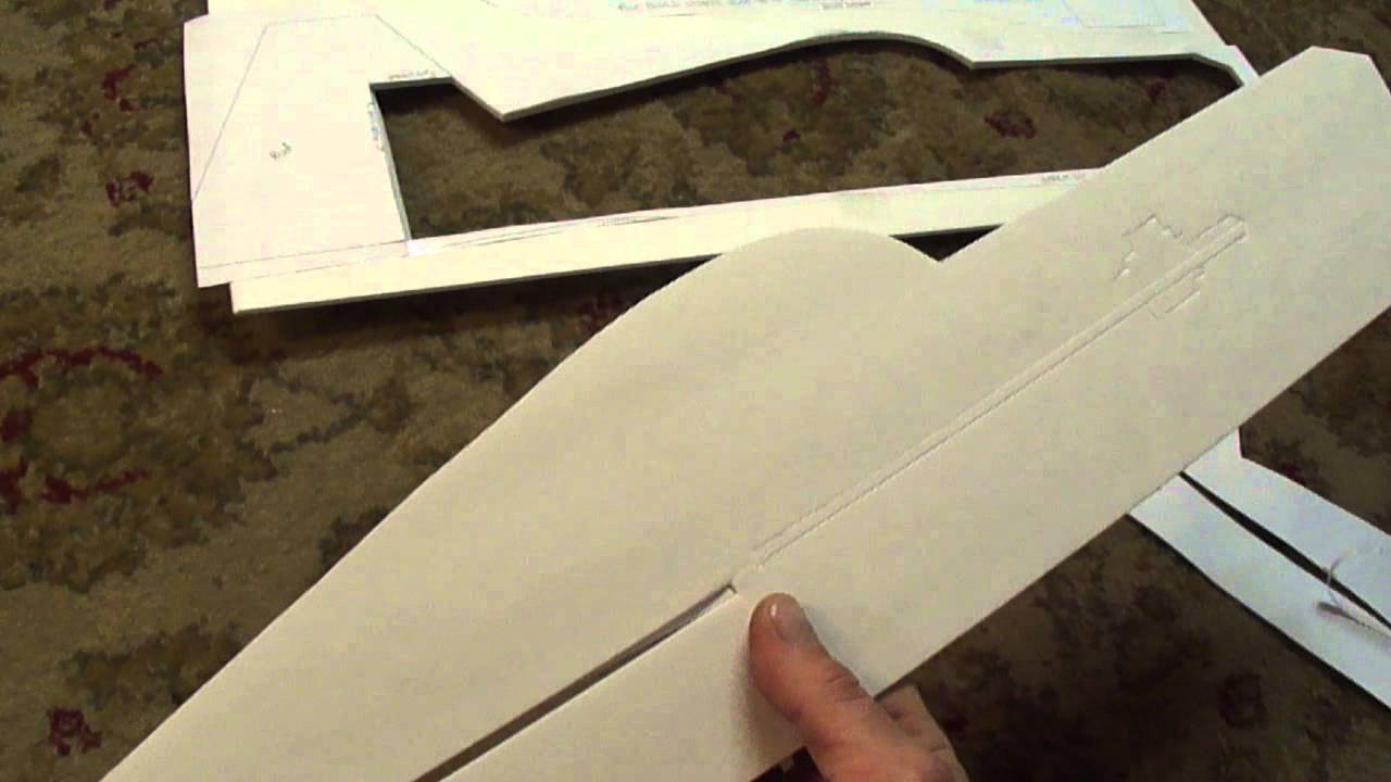Part   1 Of 3 Profile 3d Plane  Cutting And Assembling