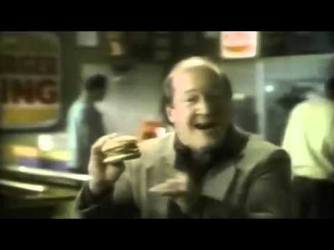 Burger King Double Cheeseburger For 99 Cents Commercial