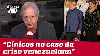 Lula e seus devotos são cínicos no caso da crise venezuelana | #AugustoNunes