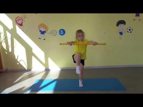 Комплекс упражнений с гимнастической палкой