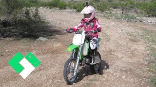 LEARNING TO RIDE A DIRT BIKE, AGAIN (9.28.14 - Day 912)