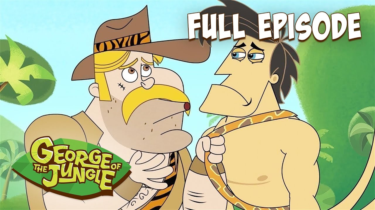 Master of Macho | George Of The Jungle | HD | English Full Episode | Funny Videos For Kids