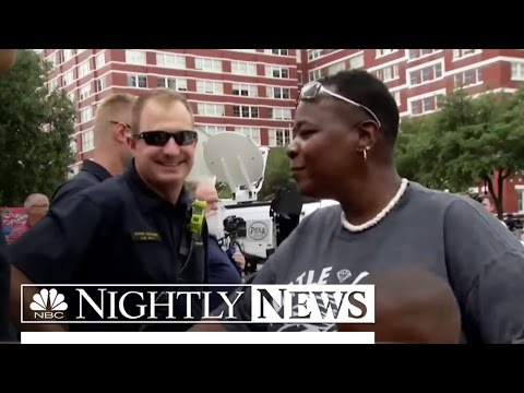 Dallas Shooting Prompts Acts of Kindness for Police Officers | NBC Nightly News