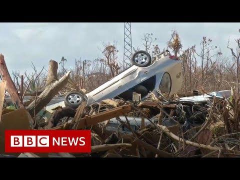 Hurricane Dorian: Search teams scour Bahamas wreckage for victims - BBC News