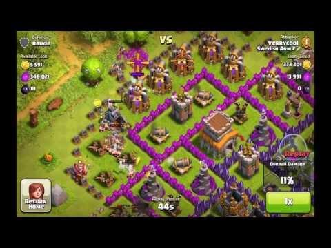 Clash of Clans - Tier 1 Troop Raid 738K Raid