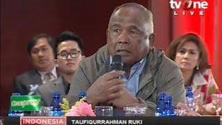 "ILC ""Kapolri"": Nasehat Dari Bp. Taufiqurrahman Ruki Yaitu Mantan DPR, Polisi, KPK"