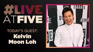 Broadway.com #LiveatFive with Kelvin Moon Loh of BEETLEJUICE