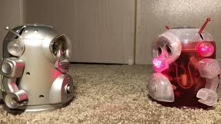Gizbo and Space Robby II talking! (Furby Fake)