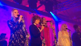 First Aid Kit &co - White Winter Hymnal - 2nd Xmas concert @ Färgfabriken Stockholm Dec 13, 2015