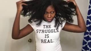 The Mane Choice Hair Growth Oil Challenge | 30 Days Follow Up | Natural Hair 2016