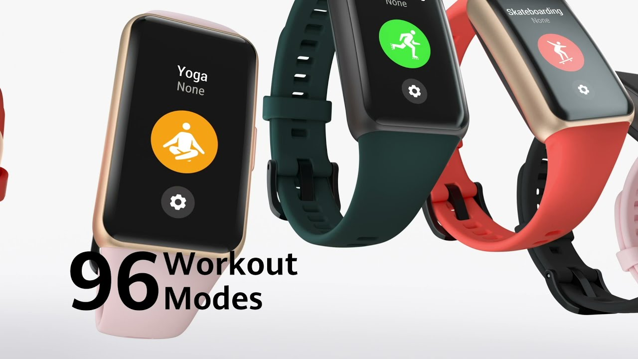 HUAWEI Band 6 I 96 Workout Modes