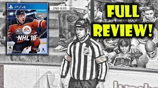 FULL HONEST Review of NHL 18