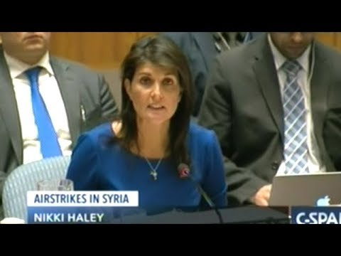 Russia Calls For U.N. Resolution Condemning United States Attacking Syria!