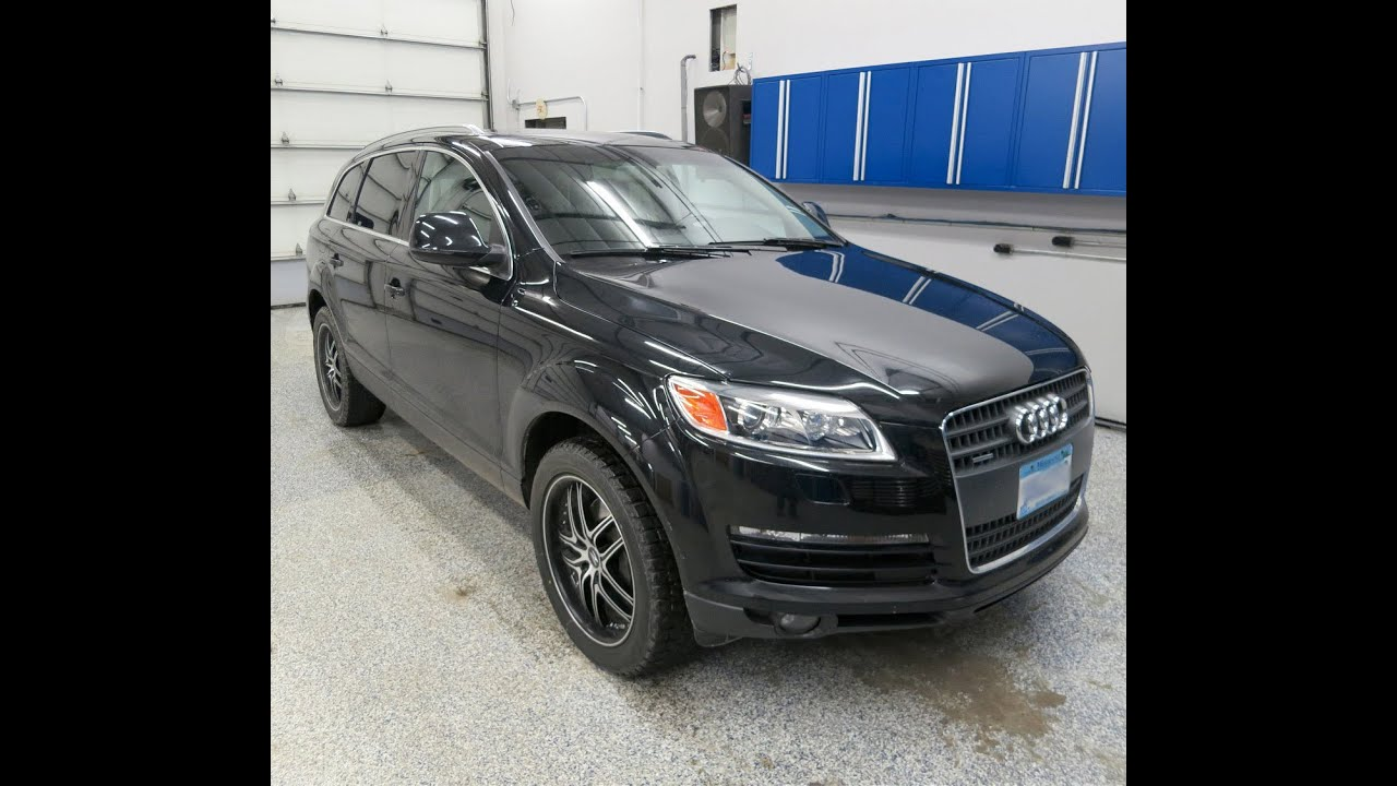 audi q7 compustar remote car starter installation with rfid entry system at sweet sounds [ 1280 x 720 Pixel ]