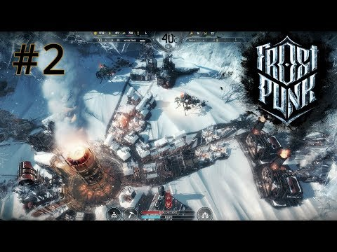 Frostpunk Gameplay EP 2: Steampunk Ice City Builder Survival Game - Lets Play