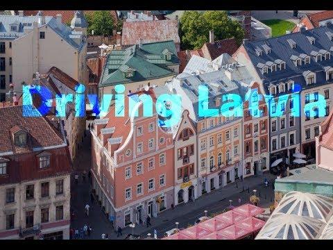 Driving Latvia