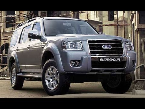 new ford endeavour suv interior exterior first look review youtube. Black Bedroom Furniture Sets. Home Design Ideas