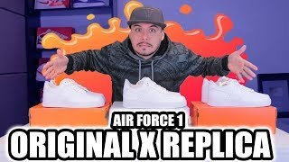 Air Force 1 Original x Réplica x Piratão