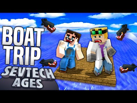 Minecraft - BOAT TRIP - SevTech Ages #11 : Yogscast