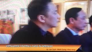Truyền hình VTC đưa tin về tinh thàn cổ vũ bóng đá của người Việt tại Ukraina