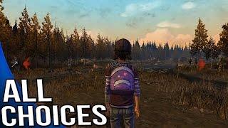 The Walking Dead Game Season 2 Episode 1 - All Choices/ Alternative Choices
