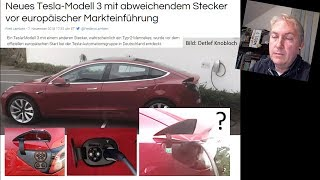CCS im Model 3, Kettcar ist pleite, E-Auto SOUND (NEWS  KW45/2018)