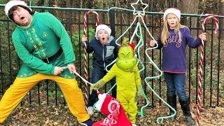 The Mini Grinch, Christmas Town and The Engineering Family featuring the Assistant