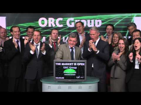 Orc Group opens Toronto Stock Exchange, May 20, 2014.